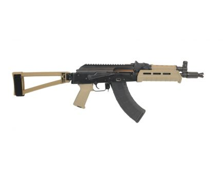 PSA AK-P GF3 MOE Triangle Side Folding Pistol, FDE