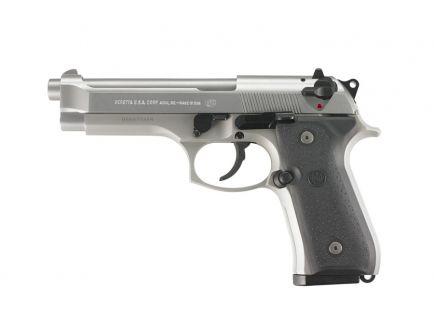 """Beretta 92FS 9mm 15rd 4.9"""" Pistol, INOX - JS92F500"""