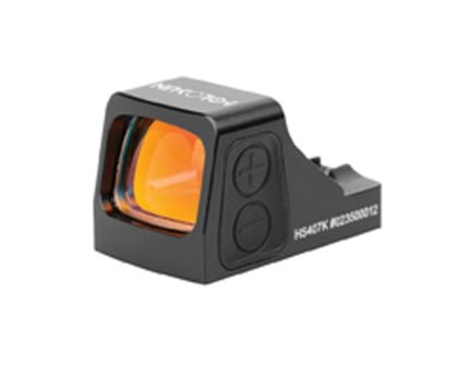 Holosun 1x Micro Red Dot Sight, 6 MOA Dot - HS407K