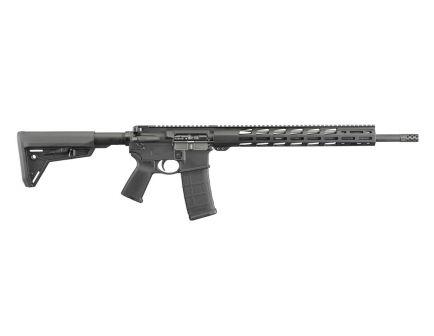"""Ruger AR-556 MPR 5.56 NATO 18"""" 30rd Rifle, Black - 8514"""