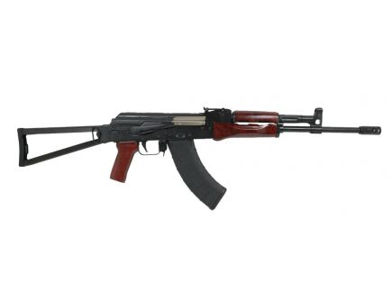 PSA AK-E Red Wood Triangle Side Folding Rifle