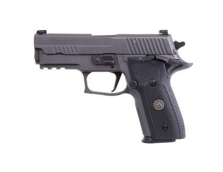 "Sig Sauer P229 Legion Compact SAO 9mm 15rd 3.9"" Pistol, Legion Gray - E29R-9-LEGION-SAO-RXP"