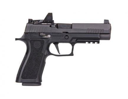 "Sig Sauer P320 RXP XFull-Size 9mm 17rd 4.7"" Pistol w/ Romeo1 Pro - 320XF-9-BX"