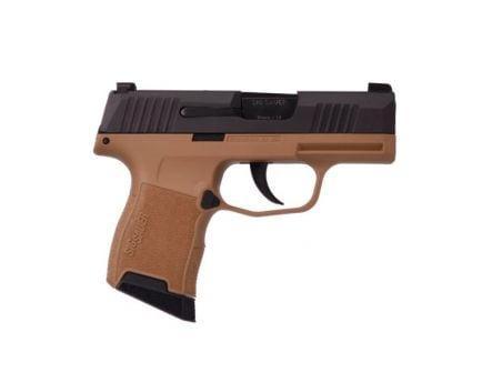 "SIG Sauer P365 9mm Pistol 10rd 3.1"", Black/FDE - 365-9-BXR3-VP"