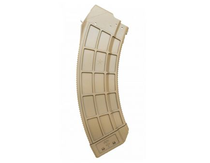 Century Arms US Palm AK30 7.62x39mm 30rd Magazine, FDE - MA693A