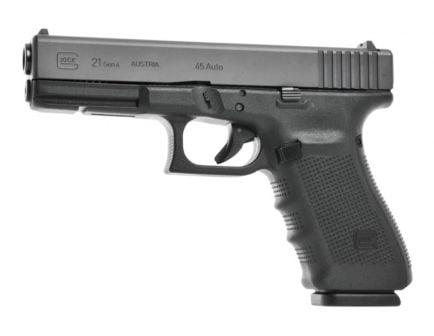 Glock G21SF Gen3 .45ACP LE Trade In Pistol w/ Night Sights - UGGLPF2150703