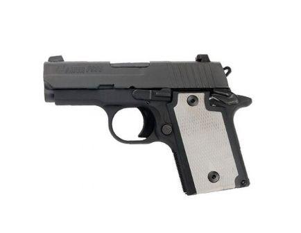 "Sig Sauer P938 9mm 7rd 3"" Pistol, Nitron/Grey - 938-9-B-GRY-AMBI-L"