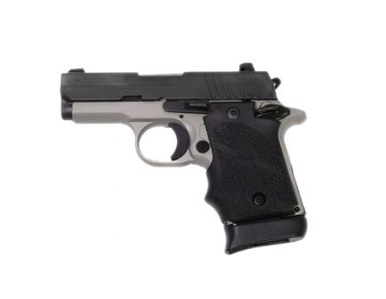 "Sig Sauer P938 Ghost 9mm 7rd 3"" Black/Grey Pistol w/ Night Sights - 938-9-GST-AMBI"