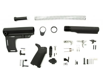 PSA MFT Battllink MOE EPT Pistol Lower Build Kit, Black