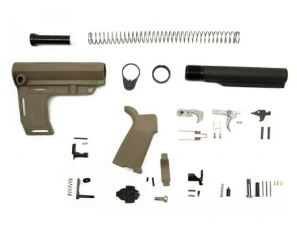 PSA MFT Battllink MOE EPT Pistol Lower Build Kit, Flat Dark Earth