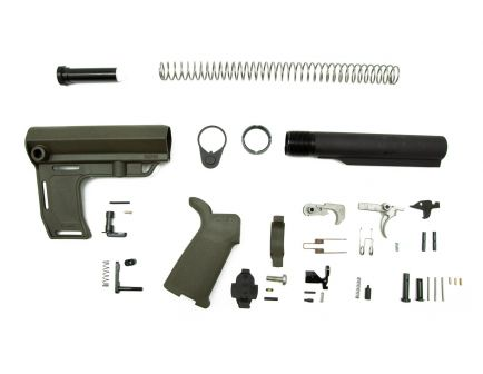 PSA MFT Battlelink MOE EPT Pistol Lower Build Kit, Olive Drab Green
