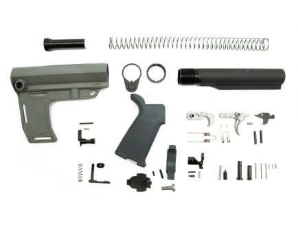 PSA MFT Battlelink MOE EPT Pistol Lower Build Kit, Gray