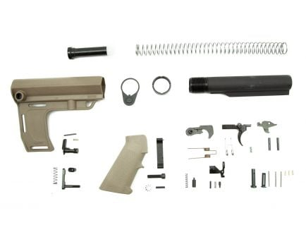 PSA Classic MFT Battllink Pistol Lower Build Kit, Flat Dark Earth