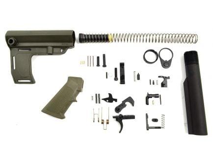 PSA Classic MFT Battlelink Pistol Lower Build Kit, Olive Drab Green