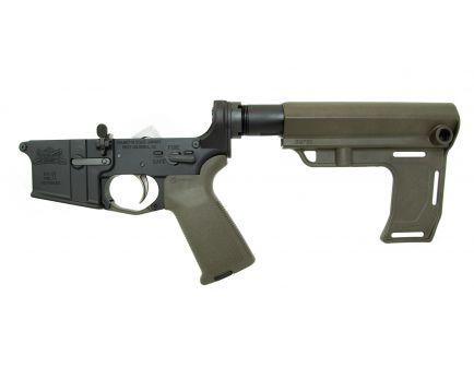 PSA AR15 Complete MFT Battlelink MOE EPT Lower, Olive Drab Green