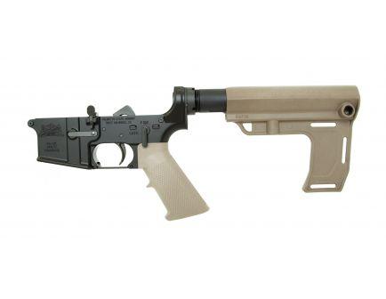 PSA AR-15 Complete MFT Battlelink Classic Lower, Flat Dark Earth