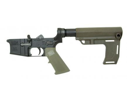 PSA AR15 Complete MFT Battlelink Classic Lower, Olive Drab Green