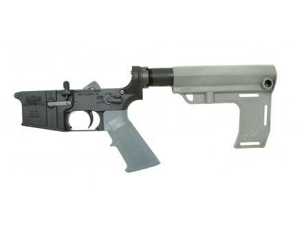 PSA AR-15 Complete MFT Battlelink Classic Lower, Gray