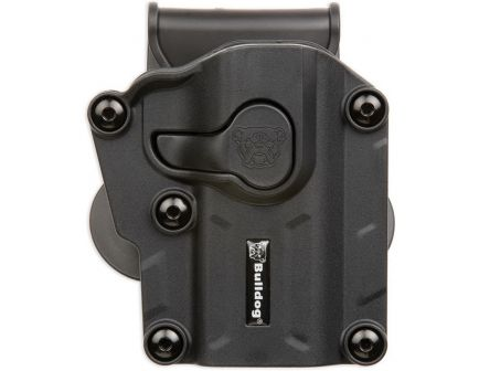 Bulldog Cases Max Multi-Fit Right Hand S&W M&P Shield 40 & 9mm Holster, Black - MX-001