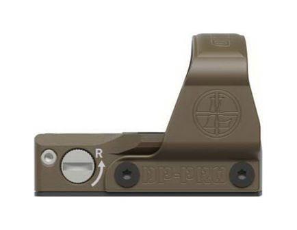 Leupold DeltaPoint Pro 1x25.7mm x 17.5mm Reflex Red Dot Sight, 2.5 MOA Dot - 175840