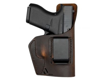 Versacarry Element Size 1 Right Hand IWB Holster, Distressed Brown - 32101