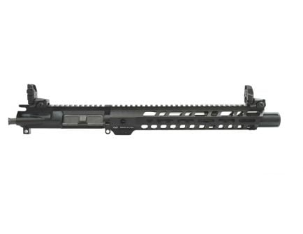"PSA 10.5"" CHF 5.56 NATO 1/7  M-lok Slant 12"" Upper With MBUS Sight Set - No BCG or CH"