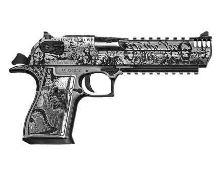 """Magnum Research 50AE 7rd 6"""" American History Desert Eagle - DE50SRMBC2"""