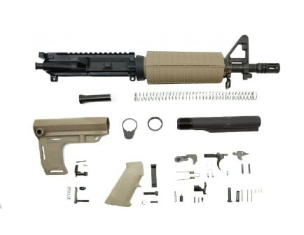 "PSA 10.5"" 5.56 NATO 1/7"" Nitride Classic MFT Battlink Pistol Kit, Flat Dark Earth"