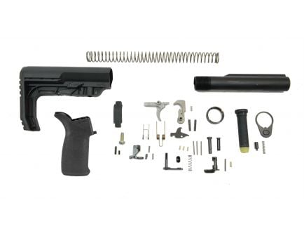 PSA MFT Minimalist EPT Lower Build Kit, Black