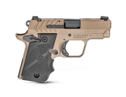 "Springfield 911 380ACP 7rd 2.7"" Pistol w/ Night Sights, FDE - PG9109F"