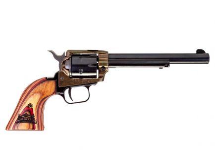 "Heritage PSA Branded Rough Rider 22lr 6rd 6.5"" Case Hardened Revolver- RR22CH6WBRN11"