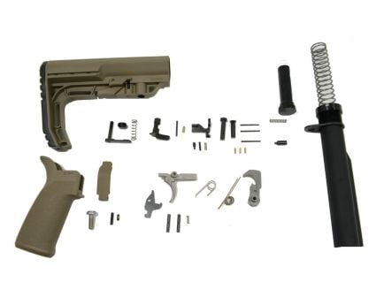 PSA MFT Minimalist EPT Lower Build Kit, Flat Dark Earth