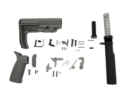 PSA MFT Minimalist EPT Lower Build Kit, Gray