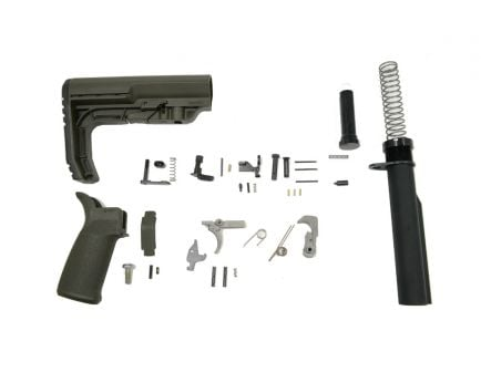 PSA MFT Minimalist EPT Lower Build Kit, Olive Drab Green