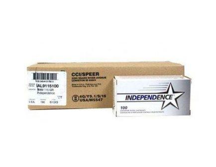 Federal Independence 115 gr FMJ 9mm Ammunition 1000 Rounds