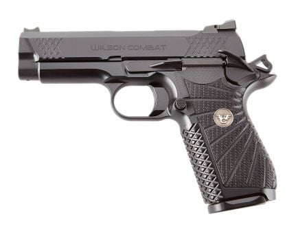 "Wilson Combat EDC X9 9mm 15rd 4"" Pistol, Black - EDCX-CPR-9A"