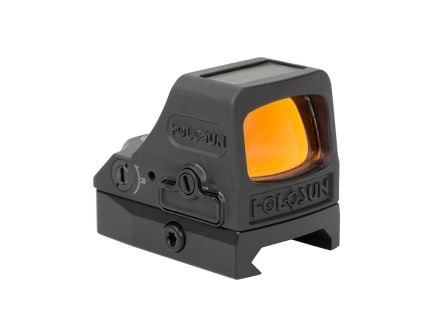 Holosun HE508T Red Circle Dot Solar Titanium Reflex Sight - HE508T-RD-V2