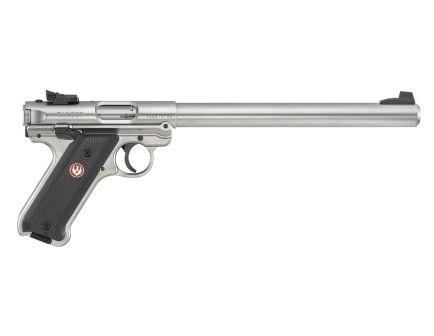"""Ruger Mark IV Target .22lr 10rd 10"""" Pistol, Stainless Steel - 40174"""