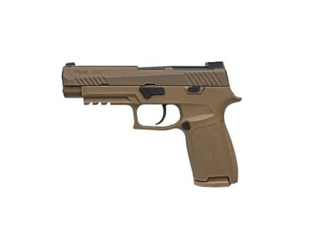 SIG P320 M17 Full Size 9mm Pistol, Coyote Tan