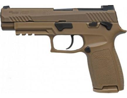 SIG Sauer P320-M17 Full 9mm Pistol MS, Coyote Tan
