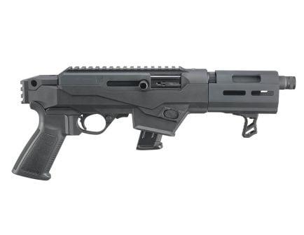"""Ruger PC Charger 9mm 10rd 6.5"""" Pistol, Matte Black- 29101"""