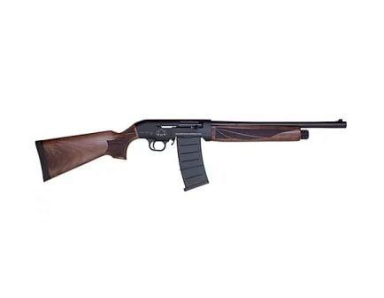 "Black Aces Tactical Pro Series M 12ga 18.5"" 5rd Semi-Auto Shotgun, Walnut - BATSASW18"