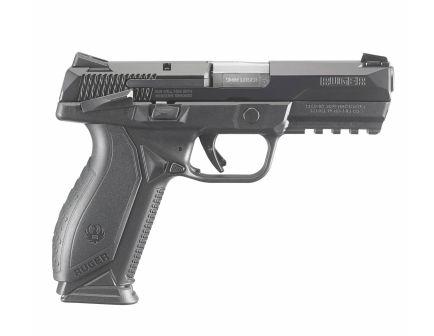 "Ruger American 17rd 4.2"" 9mm Pistol, Black - 8608"