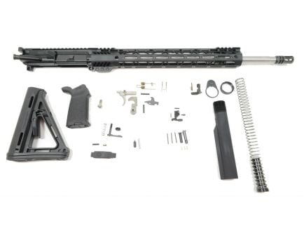 "PSA 20"" Rifle-Length 5.56 NATO 1/7 Stainless Steel 15"" Lightweight M-lok MOE EPT Rifle Kit"
