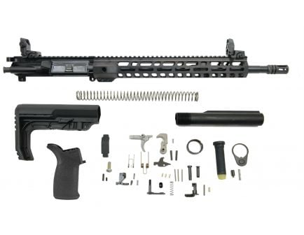 "PSA 16"" Midlength 5.56 NATO 1/7 Nitride 13.5"" Lightweight M-Lok MFT Minimalist EPT Rifle Kit With MBUS Sight Set"