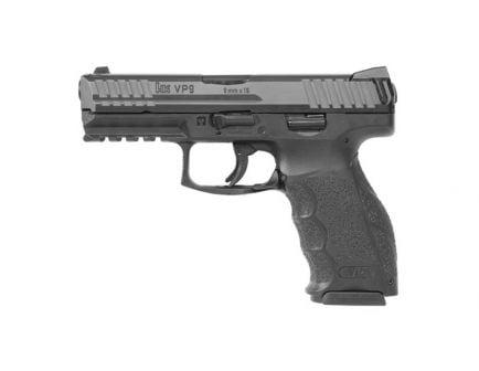 "HK VP9 17rd 4.09"" 9mm Pistol w/ Night Sights, Black - 81000284"