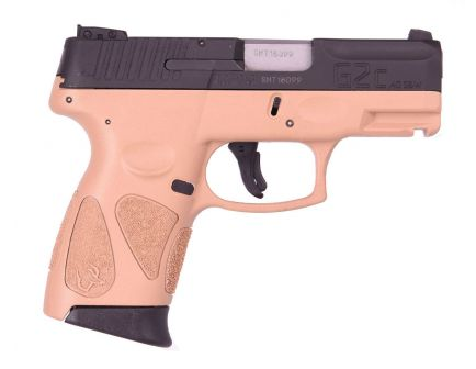 "Taurus G2C 10rd 3.2"" 40 S&W Pistol, FDE - 1-G2C4031-10T"