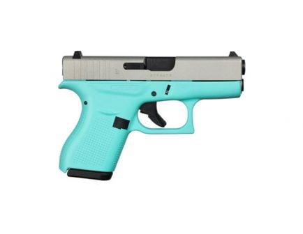 Glock 42 .380 ACP Pistol, Robin's Egg Blue - ACG-00814