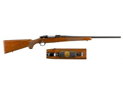 "Ruger 50th Anniversary Hawkeye 4rd 22"" 243 Win Rifle, Wood Stock - 47190"