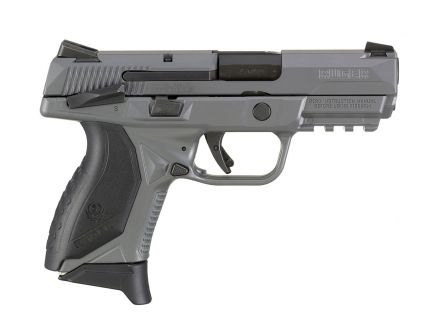 "Ruger American Compact 3.75"" 7rd 45acp Pistol, Gray/Black - 8650"